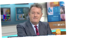 Piers Morgan says he has 'put on a bit of weight' after treating himself to takeaways and wine in lockdown