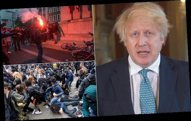 PM says protesters who harm police will face 'full force of the law'