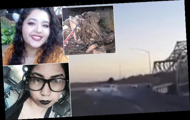California bridge accident kills four, including pregnant woman