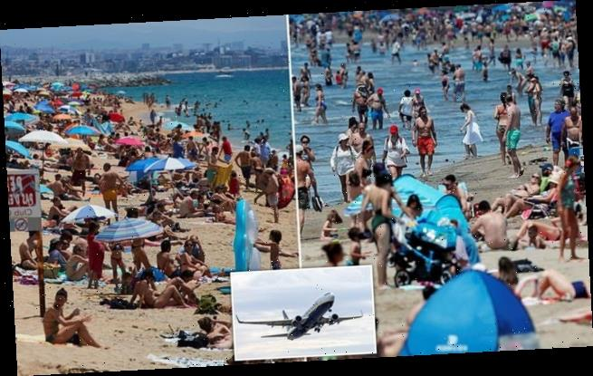 First Britons jet to Spain as price of week holiday drops to £300