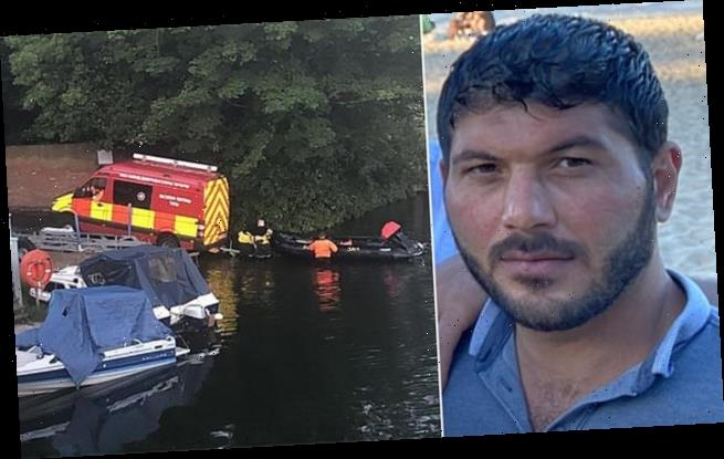 Syrian man feared drowned after jumping into river to save his friend