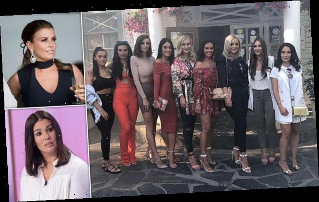 Coleen Rooney's WAG pals fear Rebekah Vardy leaked private information
