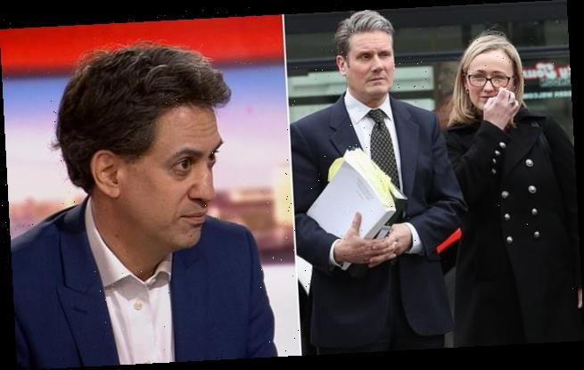 Miliband denies Labour is 'purging' Corbynites after Long-Bailey fired