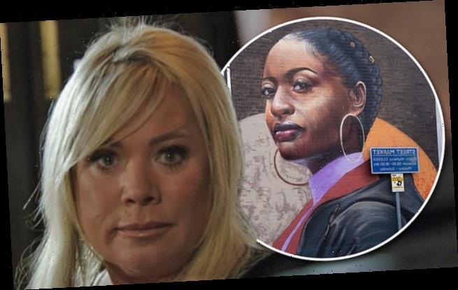 EastEnders adds large mural of black woman to Albert Square backdrop