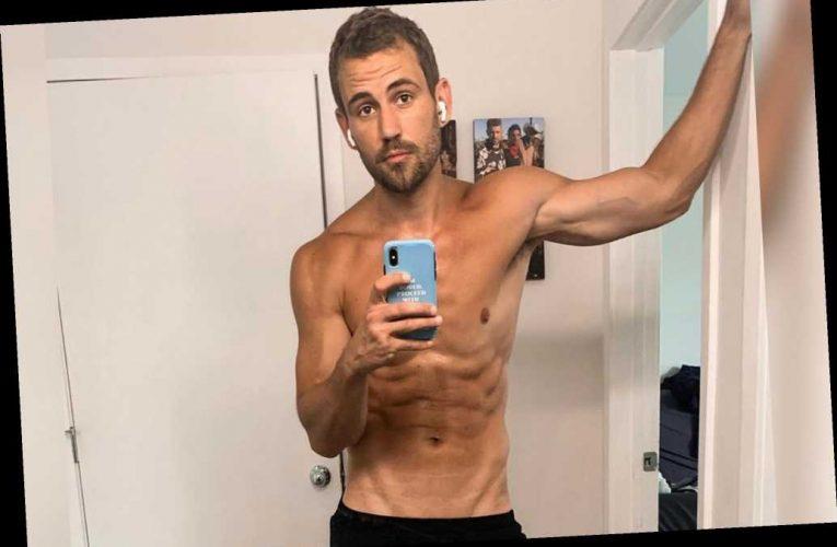 Nick Viall felt 'self-conscious' after criticism of shirtless selfie