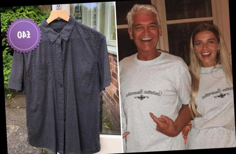 Phillip Schofield's daughter Ruby is selling her famous dad's old clothes online at £40 a pop – The Sun