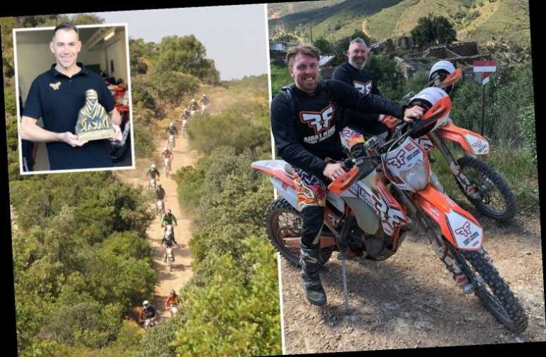 Algarve motocross holiday pairs adrenaline thrills and Portuguese holiday for a getaway like no other