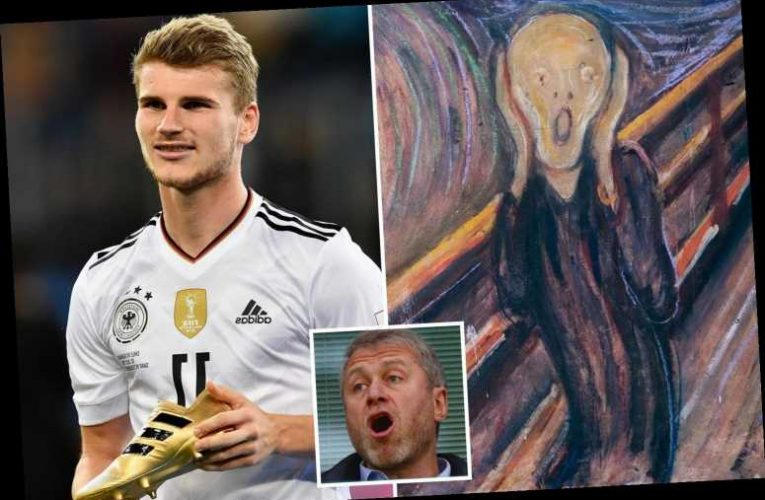 Chelsea owner Abramovich splashes £95MILLION on Munch's 'The Scream'… making Timo Werner transfer a drop in the water – The Sun