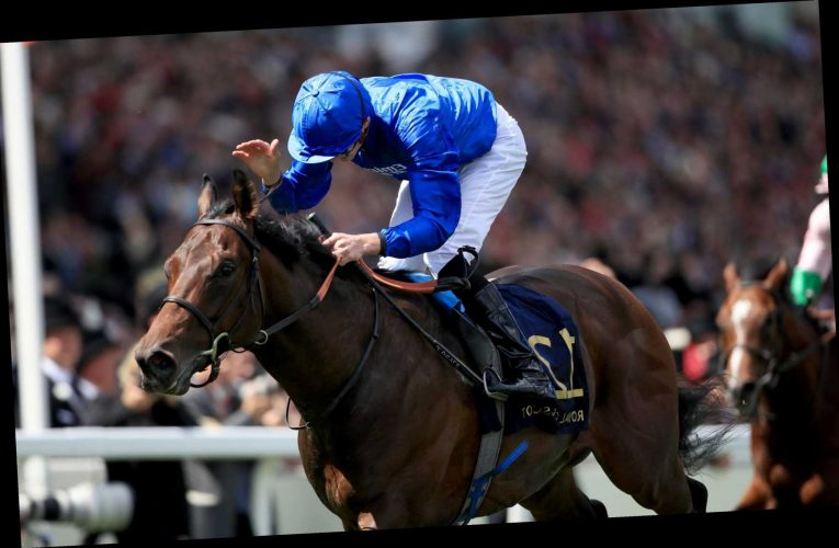 Royal Ascot bid depends on stalls test for Charlie Appleby star Pinatubo as BHA aim to have them back running this week