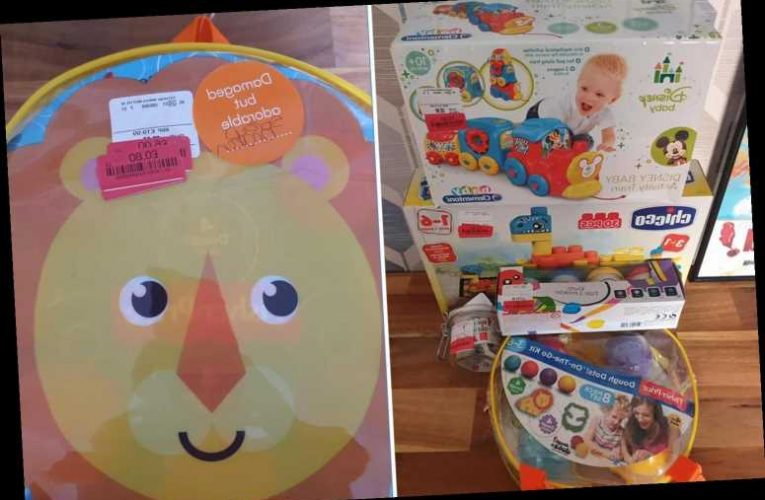 Savvy dad bags Play Doh, Disney toys and more for just 80p each in TK Maxx sale