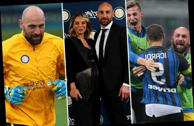 Meet the Wimbledon reject on £180k-a-year who is Inter's back-up keeper and has been sent off twice without playing