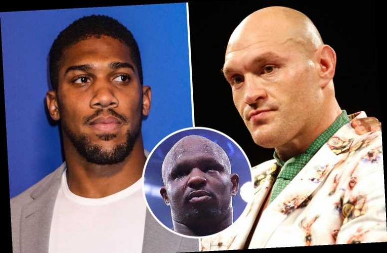 Tyson Fury vs Anthony Joshua blow as WBC insist Dillian Whyte MUST face Gypsy King after Wilder trilogy fight – The Sun