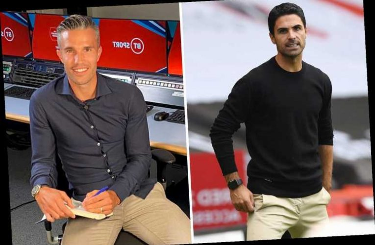 Arsenal legend Robin van Persie explains exactly what's wrong with club and warns it will take Arteta 'years' to fix it – The Sun