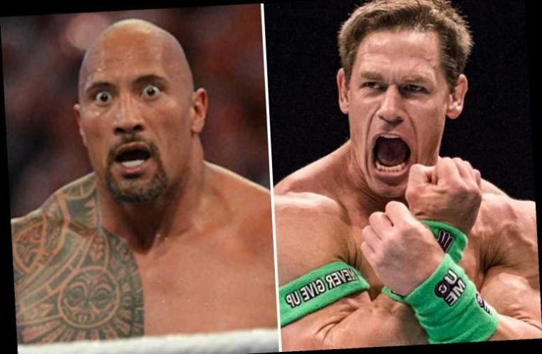 WWE star John Cena admits regret at row with Dwayne 'The Rock' Johnson in revealing interview and says it 'was stupid' – The Sun