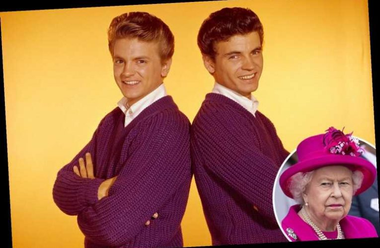 The Queen described rock band The Everly Brothers as sounding like 'cats being strangled', royal author reveals