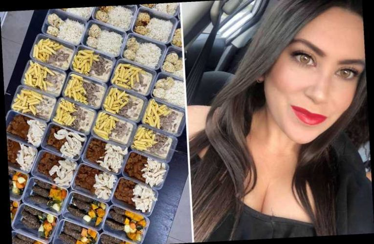 Thrifty mum-of-three makes 90 meals for just £200 – and it only took her one afternoon