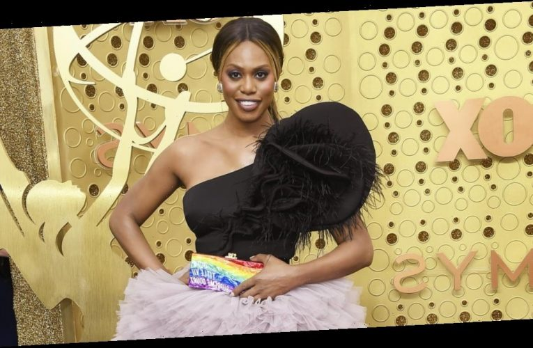 Laverne Cox Is Auctioning Off Her Custom Rainbow Pride Clutch From the 2019 Emmys