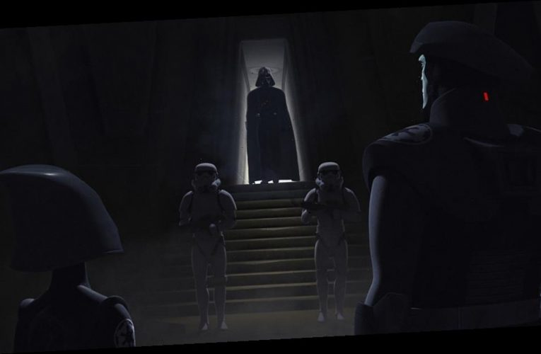 Why Are Darth Vader's Eyes Visible At The End of 'Star Wars: The Clone Wars'?