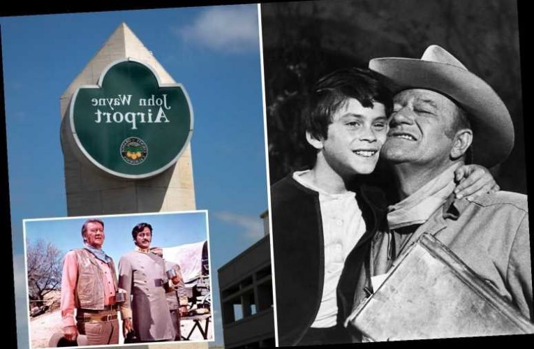 John Wayne's son says his father was 'not a racist' after push to rename Orange County's John Wayne Airport – The Sun