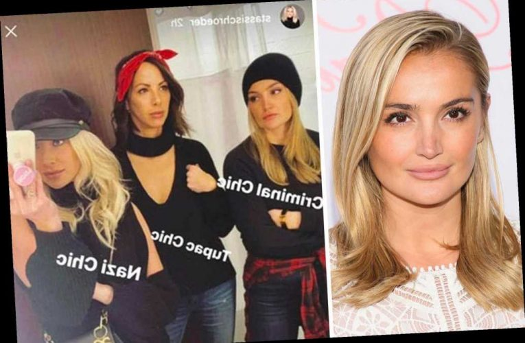 Rachael O'Brien 'begged' Stassi Schroeder not to use 'Nazi chic' for photo