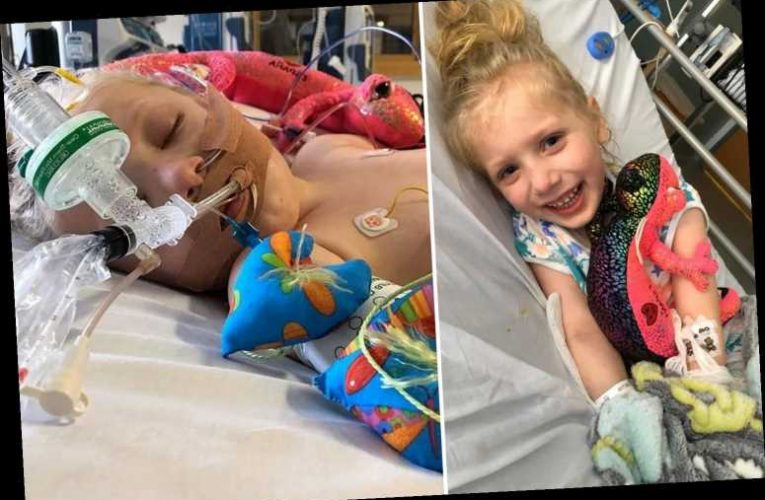 Girl, 5, defies the odds to beat coronavirus and new inflammatory illness within weeks – The Sun