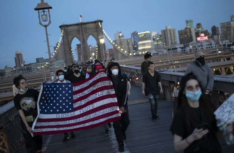 Police show less force as peaceful protests push reform