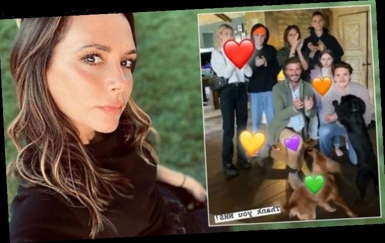 Victoria Beckham marks important day in first family video since Brooklyn's return home