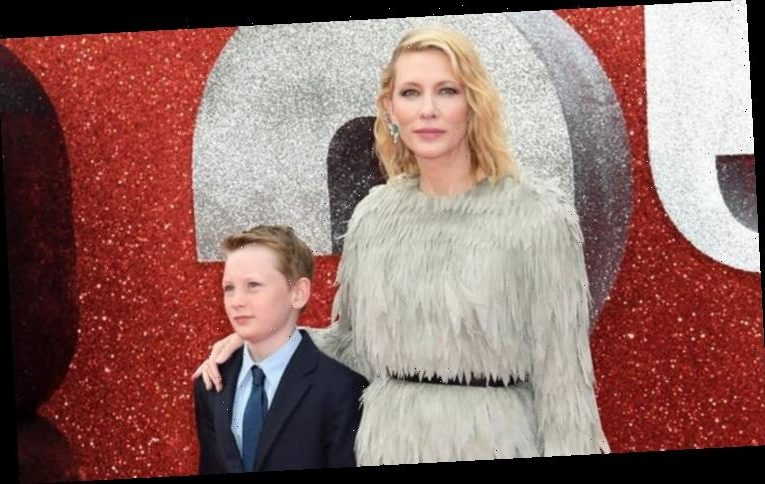 Cate Blanchett: My struggles with work and motherhood teach my boys about feminism
