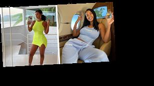 Inside Maya Jama's Ibiza holiday including a lavish private jet trip and eating brains