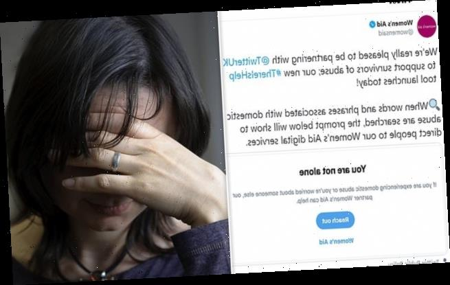Twitter is praised after partnering with Women's Aid