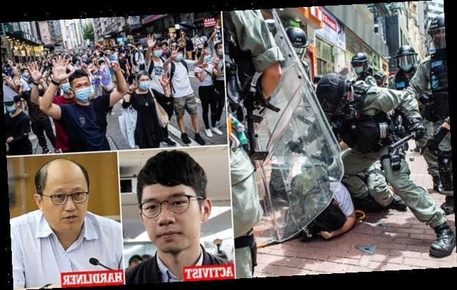 Hong Kong activist flees the city after testifying before US Congress