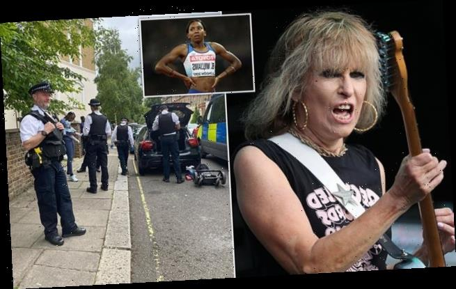 The Pretenders singer Chrissie Hynde saw police stop Bianca Williams