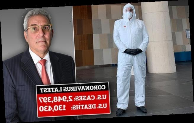 Florida lawyer attends court in a HAZMAT SUIT amid COVID-19 pandemic