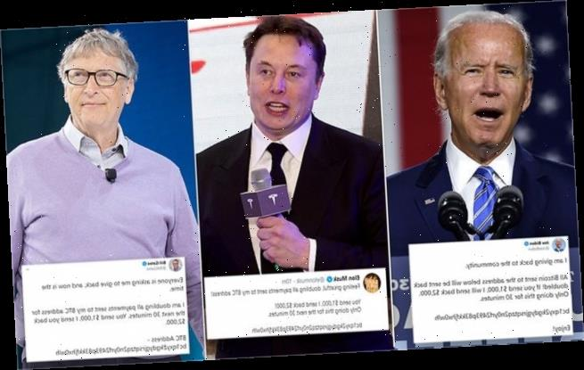 Biden, Elon Musk, and Obama all have their Twitter accounts HACKED