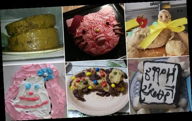 Home bakers reveal their MOST disastrous cakes