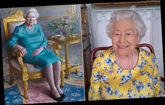 Queen attends unveiling of new portrait of herself by Zoom video call
