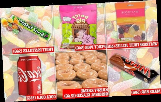 Sweets using 'made from fruit juice' claims are 'misleading'