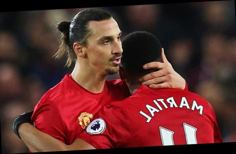 Man Utd boss Solskjaer motivated Martial by texting him 'do you want your No9 shirt back?' after Ibrahimovic left