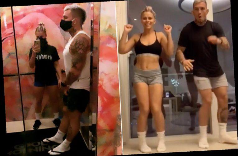 Paige VanZant documents intense UFC 251 journey to Fight Island