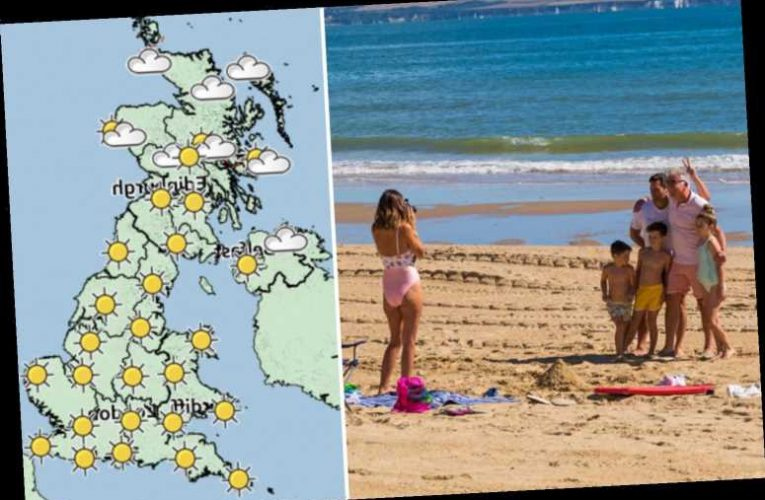 UK weather: Friday could be HOTTEST day of the year so far as temperatures set to be warmer than Barcelona at 33C