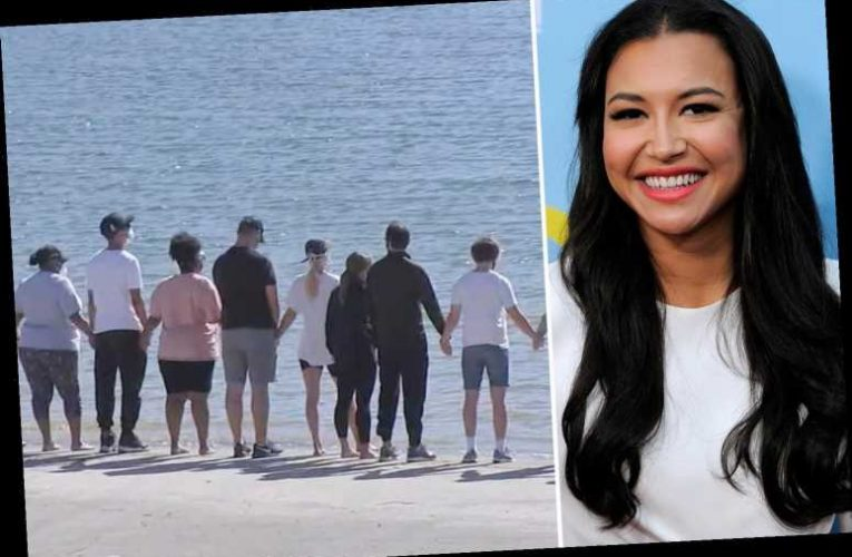 Naya Rivera's Glee co-stars hold hands at lake where actress' body was found five days after disappearance – The Sun