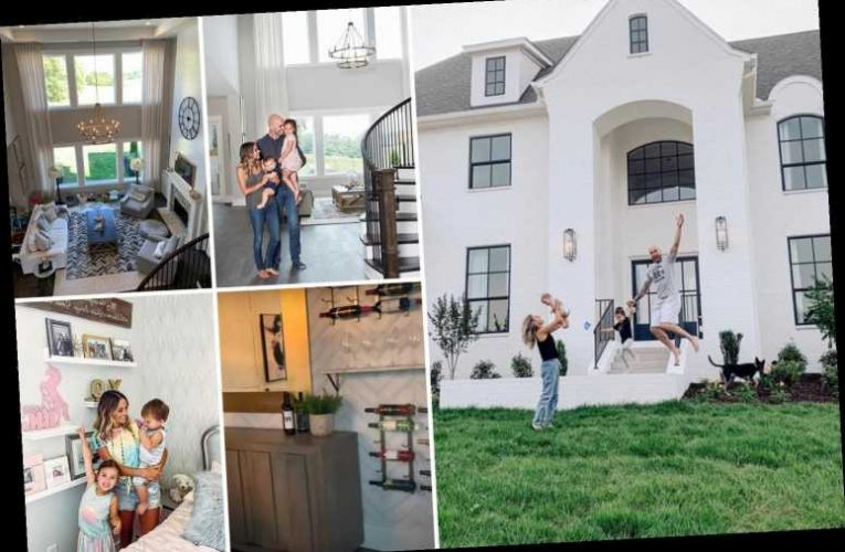 Inside Jana Kramer and Mike Caussin's massive Nashville home featuring wine bar and stunning views – The Sun