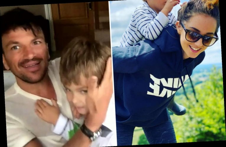 Peter Andre recalls 'terrible time' son Theo stopped sleeping and eating – leaving wife Emily 'really upset'