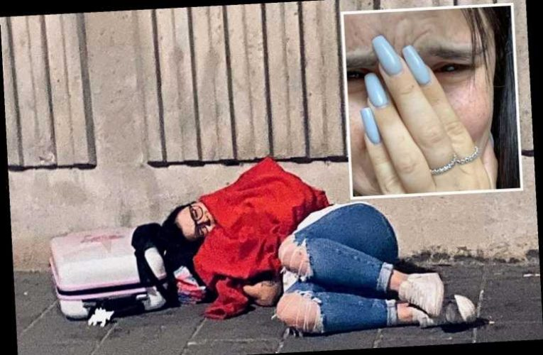 Brit woman claims she was forced to sleep rough in Amsterdam for two nights when travel agent 'cancelled hotel'