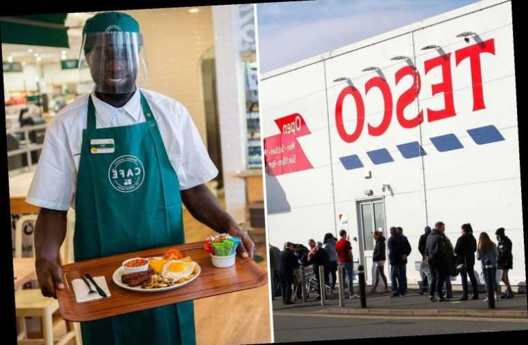 Eat Out to Help Out menus for supermarket cafes, including Tesco and Morrisons