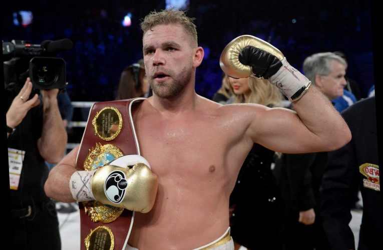 Billy Joe Saunders fined £15k but free to box again after sick domestic violence video and comments to Chris Eubank Jr