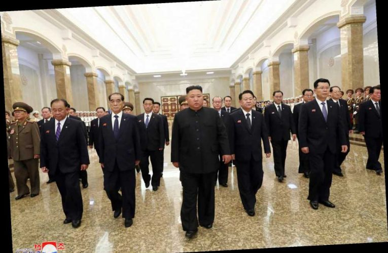 Kim Jong-un dead rumours blown apart as North Korean tyrant shows up for ceremony to mark 26 years since grandad's death