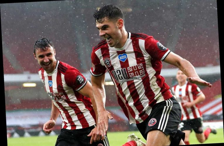 Sheffield Utd 1 Wolves 0: Egan's dramatic last-gasp winner keeps Blades' Euro dream alive and kicking