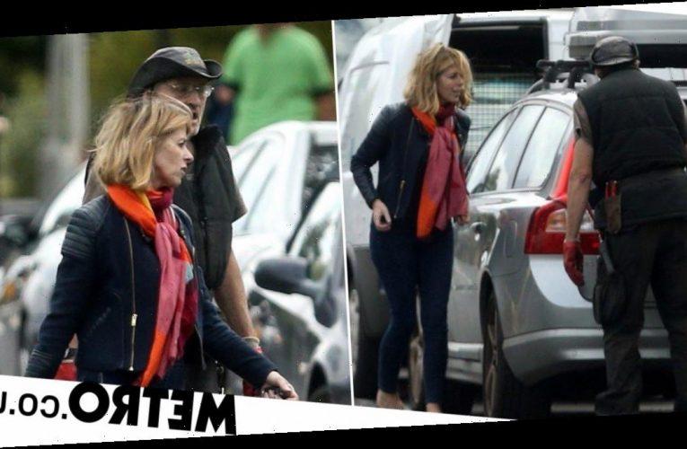 Kate Garraway runs errands after update on husband Derek Draper