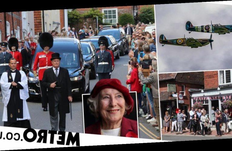 Dame Vera Lynn funeral: Crowds line street to farewell We'll Meet Again singer